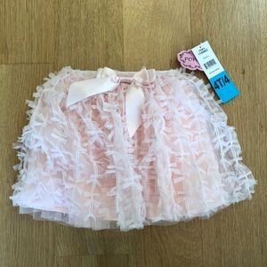 Other - BNWT pink tutu with all over bows